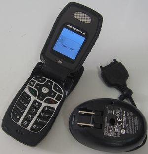 Motorola i560 Nextel Boost PTT Rugged Cell Phone Wall Chargr