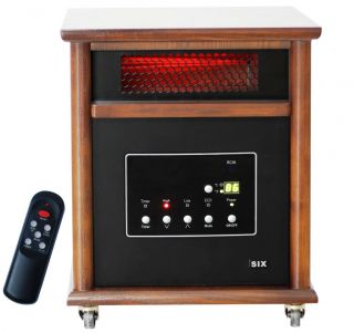 Element 1800 SF 5100 BTU Infrared Quartz Portable Heater L HOM6 NS12