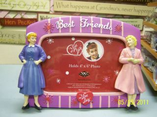 NIB I Love Lucy best friends picture frame
