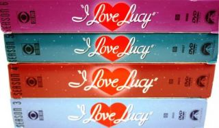 Love Lucy Complete 3rd 4th 5th 6th Seasons DVD Combo Set 3974S1