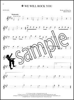 Instrumental Play Along Alto Sax Saxophone Sheet Music Book with CD