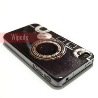 Retro Camera Hard Plastic Back Case Cover Skin for Apple iPhone 4 4S