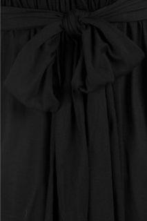 Tomas Maier V neck jersey dress