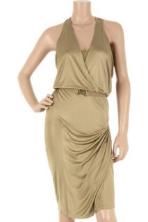 Donna Karan Liquid satin jersey dress   75% Off