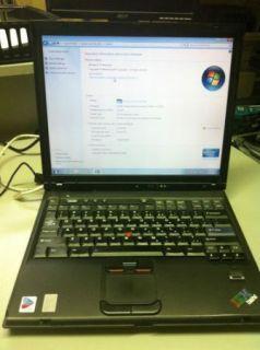 IBM Lenovo Thinkpad R52 Laptop, WiFi   Upgraded Memory   Great Working
