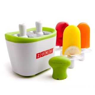 New Ice Cream Maker Zoku Duo Quick Pop Maker