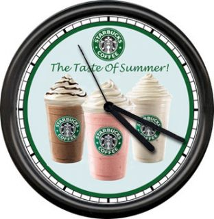 Starbucks Frappuccino Espresso Iced Coffee Store Dealer Latte Sign