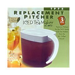 Mr Coffee Replacement Ice Tea Maker Pitcher TP75 Jarden