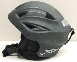 OVO Adult Snow Ski Snowboard Helmet Black Medium New