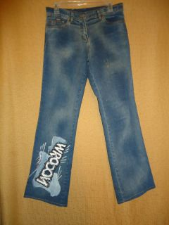 Iceberg Ice Jeans Low Rise Boot Cut Mens Jeans Size 28x29