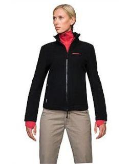 Icebreaker Womens Pure Plus Luna Black Zip Up Merino Wool Outer Layer