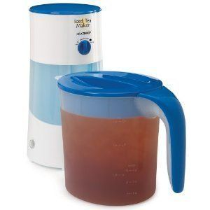 Mr Coffee TM70 3 Quart Iced Tea Maker Brewer Pitcher New