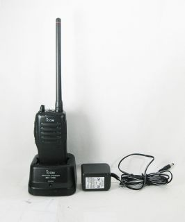 Icom IC F11S 2CH VHF 146 174 MHz 5W Portable Radio Does Narrowband