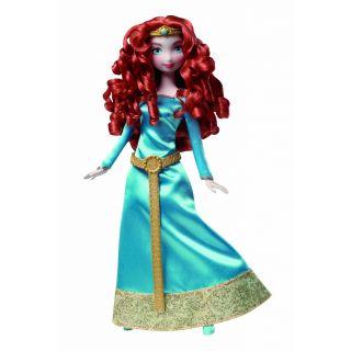 Disney Pixar Brave Merida Mattel Barbie Doll w Comb New Crinckled
