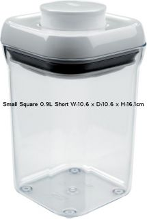 OXO Good Grips Kitchen Food Bathroom Storage Box Pop Container