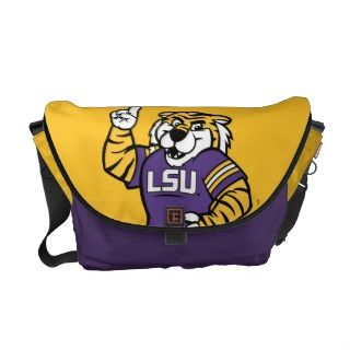 LSU Mascot Courier Bag