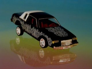 Hot 82 Buick Regal Custom Lowrider Limited Edition 1 64 Scale