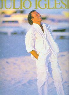 Julio Iglesias 1986 America Tour Concert Program Book