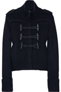 Burberry Brit Double breasted wool blend cardigan