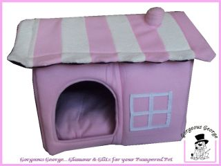 DESIGNER PINK CAT HOUSE DOG HOUSE PET BED IGLOO SALE PRICE 9 99