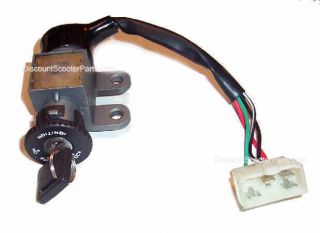 Scooter Ignition Switch with Key Fast