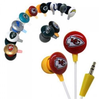 Official Licensed iHip NFL Noise Isolating Earphones   4 Playoff Teams