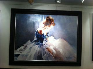 Superb Igor Shulman Original Oil Painting Christine