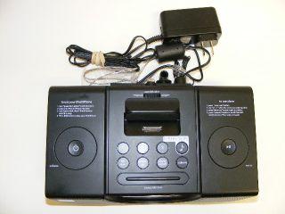 iHome iPod iPhone Dock  Sure Alarm Clock Radio Battery Backup HIP42