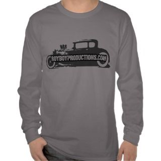 Model A Stencil Long Sleeve T T Shirts