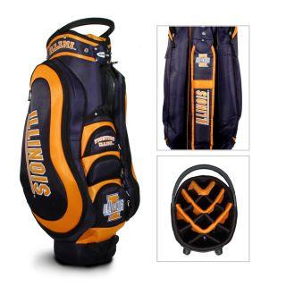 2013 Team Golf NCAA Illinois Fighting Illini Collegiate Cart Golf Bag