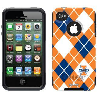Commuter Case Apple iPhone 4 4S University of Illinois Fighting Illini