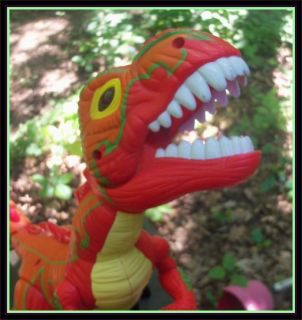 Imaginext MEGA T REX DINOSAUR Figure Roars w/ Sound ★ HUGE ★ Toy