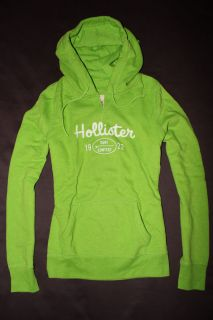 Hollister Abercrombie Womens Imperial Beach Sweatshirt Fleece Hoodie s