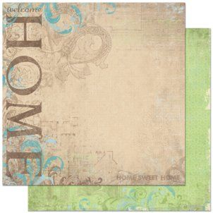 Bo Bunny Welcome Home Cardstock Collection Scrapbook Paper