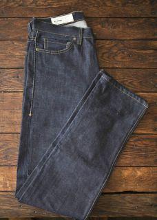 Imogene Willie Barton Slim Denim Jeans Selvedge 32x34 Indigo