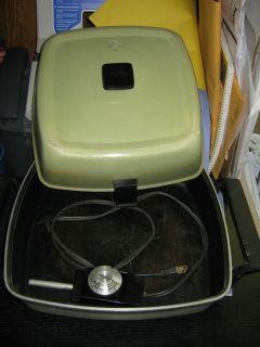 Vintage Retro Sunbeam Electric Skillet Frying Pan