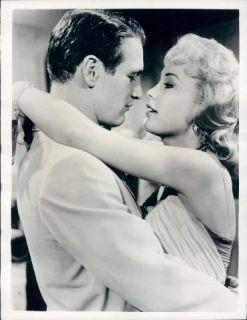 1966 Sizzling Love Scene Paul Newman Stella Stevens