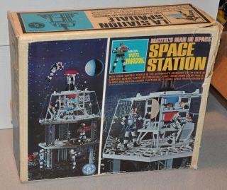 1966 Major Matt Mason Space Station in Box