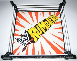 WWE Rumblers Action Figure Wrestling Ring