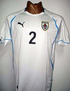 2011 Original Puma Uruguay Away Soccer Jersey Lugano 2 All Sizes
