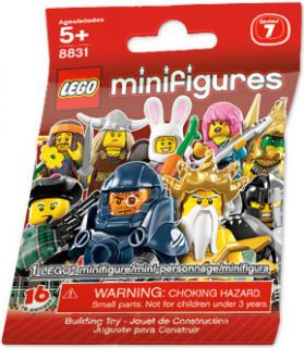 Lego 8831 Minifigures Series 7 Factory SEALED in Lego Bag Random 1