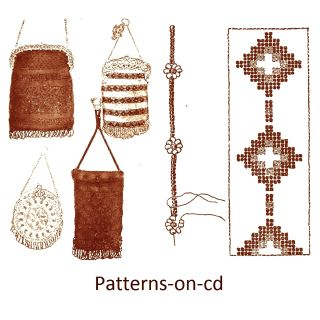 Beadwork Manual Oncd Bead Weaving Loom Native Indian Patterns