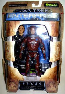 Inches Star Trek Enterprise Series Action Figure By Art Asylum