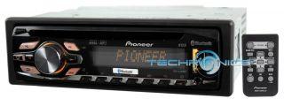 PIONEER CAR IN DASH STEREO PANDORA CD IPOD RECEIVER W/ USB AUX INPUT