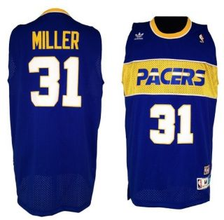 Indiana Pacers Reggie Miller Blue Jersey