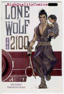 Name of Comic(s)/Title?: LONE WOLF 2100 #4( Independent).