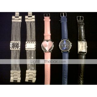 EUR € 4.31   dulce corazón joven mujer reloj pulsera rosa roja rosa