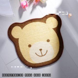 45*55cm cute lion/ bear Indoor Carpet Rug Door Mat Bedroom Living Room