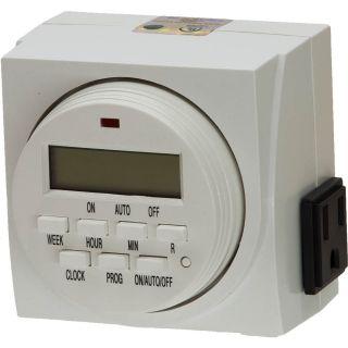 24 7 Digital Timer Control for Indoor Garden Hydroponics MH HPS Grow