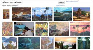 Painting Landscape Cuban Art Latin American Realism Potrony Miniature